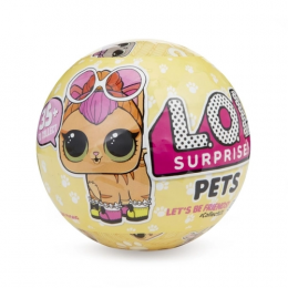 Boneca Lol Surprise 7 Surpresas Pets 8905 Candide