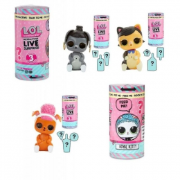 Boneca Lol Surprise Live Pets Interativo 8915 Candide