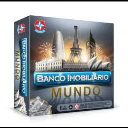 Jogo Banco Imobiliário Mundo Ref.1201602800053 - Estrela