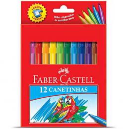 Canetinha Hidro 12 cores R150112ECZF Faber Castell