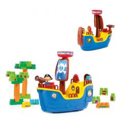 Baby Land Navio Pirata c/30 Blocos R.8002 - Cardoso