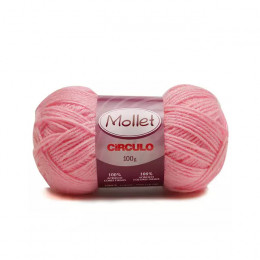 Lã Mollet Colorida 100g