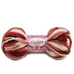 Lã Mollet Multicolor 40g Circulo