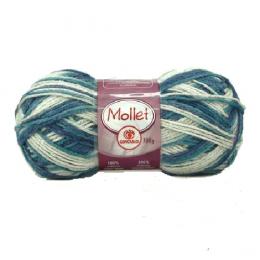 Lã Mollet Multicolor 100g Círculo