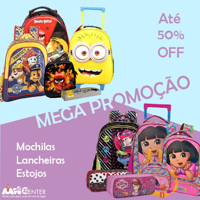 Promoção - Mochilas